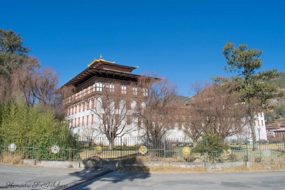 Tashichho Dzong Thimpu Dzong Bhutan