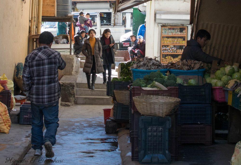 Thimphu Market Bhutan