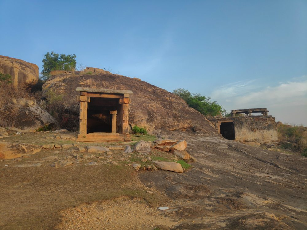 Entrance To The Melukote Manmade Caves