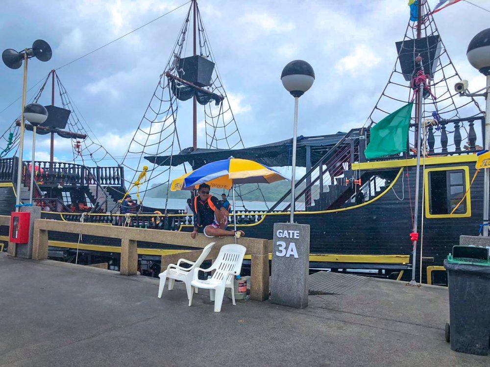 Ao Po Pier Thailand