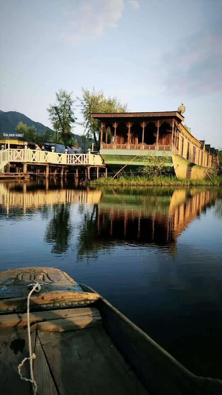 Dal Lake Kashmir Boat House
