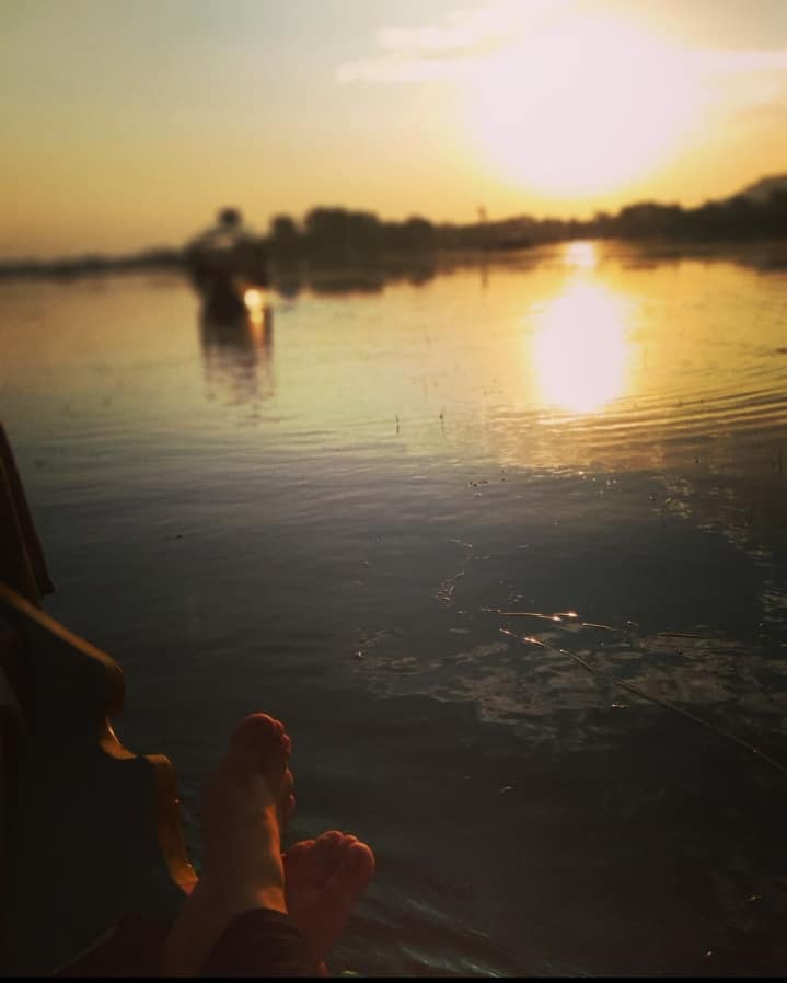 Dal Lake Kashmir Sun Water