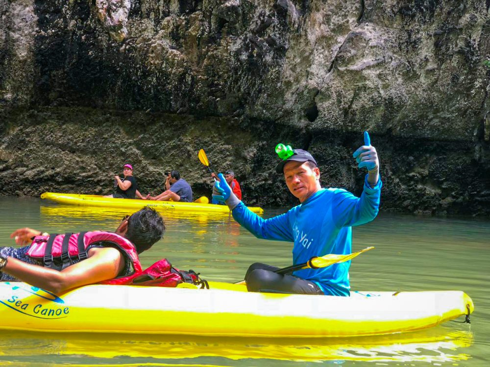 Hong Hopping Kayak Guide Thailand