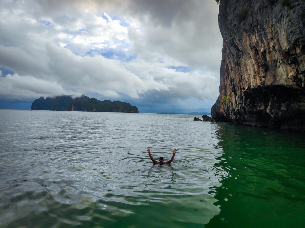 Swimming In The Andaman Sea