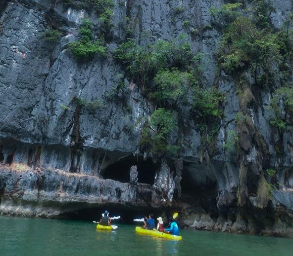 Thailand Dark Caves Kayak Islet Island