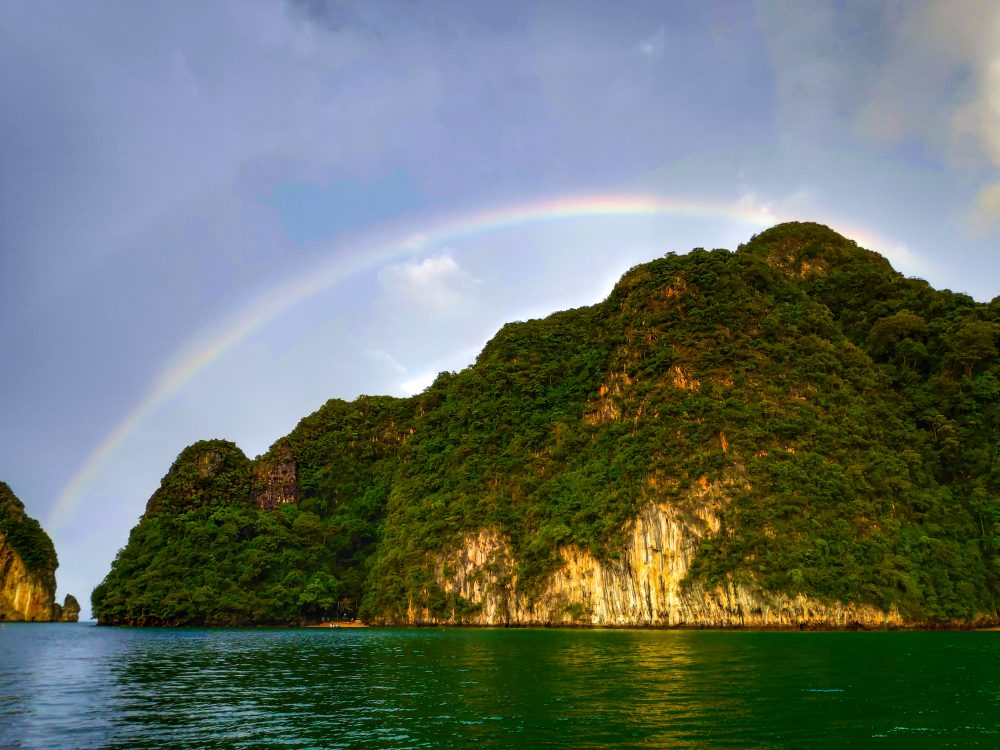 Thailand Island Rainbow